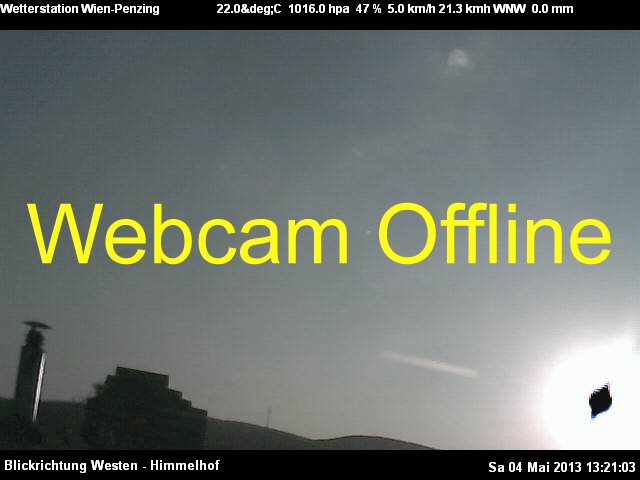 Webcam Wien - Penzing Vienna Austria - Webcams Abroad live images